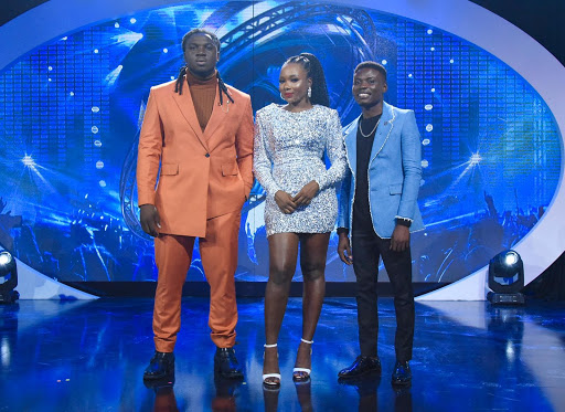 Nigerian Idol Top 3 Contestant's Stunning Looks For Last Sunday's Live Show