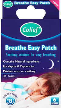 Colief Breathe Easy Patch - 6pk