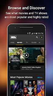 IMDb Movies & TV Screenshot