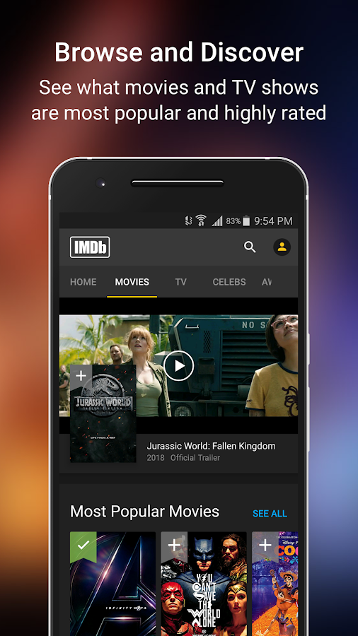 IMDb Movies & TV- screenshot