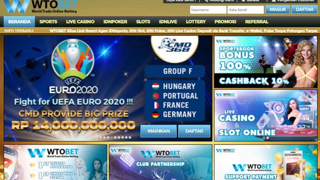 Gambar header untuk situs
