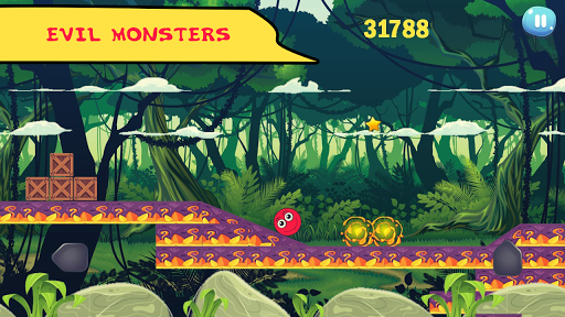 1b8e8910bd921 ... Red Hero 4 - Bounce Ball Super Adventure screenshot 3