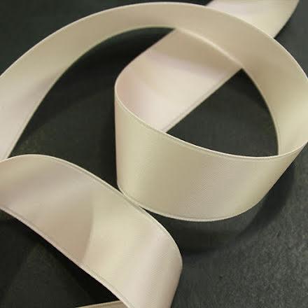 Satinband - Cream