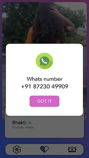 Chatzy - Nearby girls numbers for whatsapp prank Screenshot