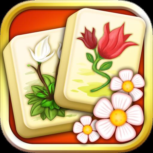 Mahjong Flower Garden - Free Spring Flower Game