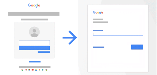 Learn about the new Google sign-in page - Computer - Accounts Help