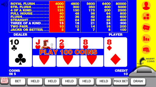 Video Poker 11 11.085 screenshots 1