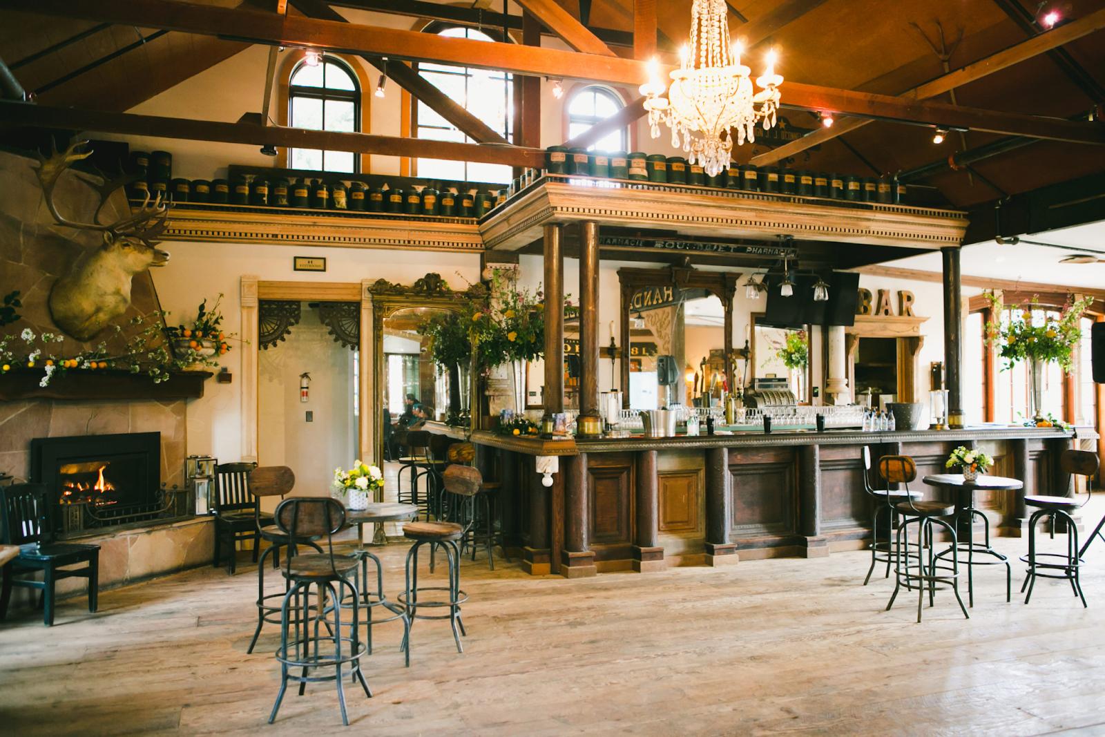 Triple S Ranch bar area