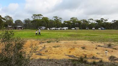 Photo: Camp's growing