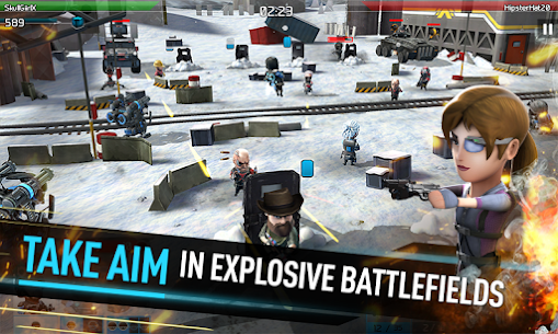 WarFriends 1.4.0 (Unlimited Ammo) Mod Apk + OBB Data 4