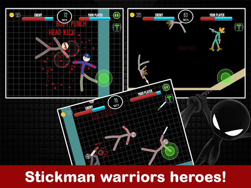 Stickman Fight 2 Player Games
