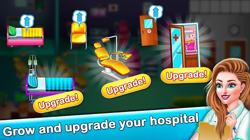 Code Triche Doctor Hospital Operation Time Management Game APK MOD screenshots 5