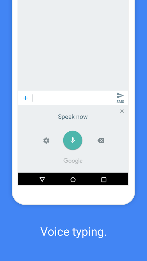 Screenshots of Google Keyboard for iPhone