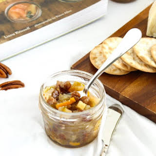 Pear, Clementine and Pecan Chutney.