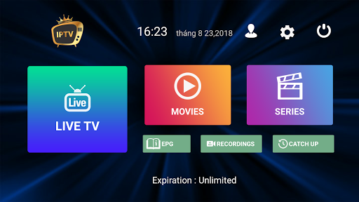 Premium Iptv TV Box 1.6.6 screenshots 1