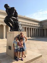 Photo: H9026946 'Mysliciel' Rodin'a i upały w muzeum
