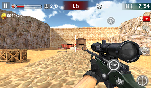 Sniper Shoot Fire War 1.2.5 screenshots 3