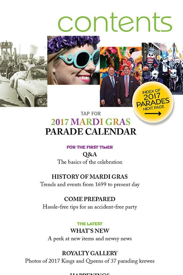 Mardi Gras Guide 2017- screenshot
