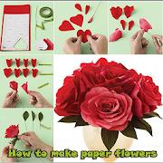 كيفية جعل ورقة الزهور APK