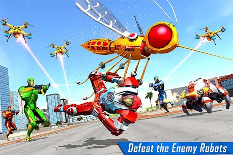 Mosquito Robot Car Game – Transforming Robot Games 2