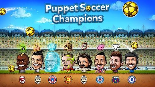 ⚽ Puppet Soccer Champions Mod Apk – League ❤️🏆 4