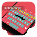 Mustache -Kitty Emoji Keyboard icon