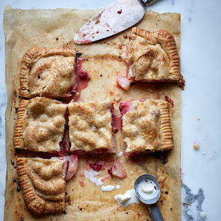 Pear-and-Cranberry Slab Pie