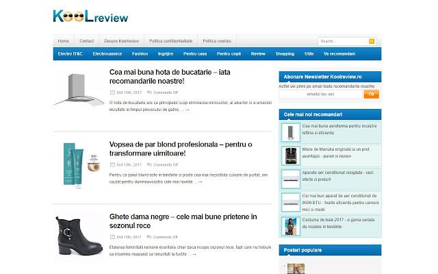 Koolreview catalog shopping