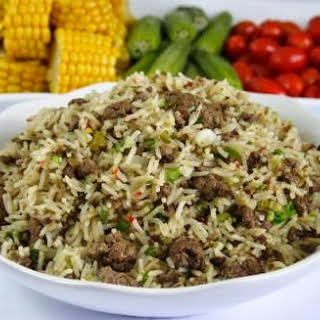 Italian Rice With Chicken Liver.