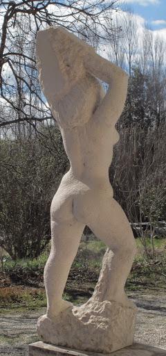 femme taille directe dos