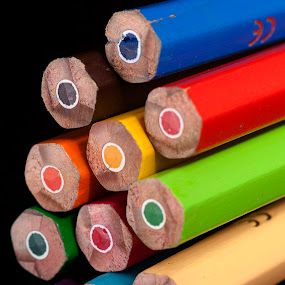 Colors by Cristobal Garciaferro Rubio - Artistic Objects Other Objects ( pencil, wood, wood pencil, colors, art colors )