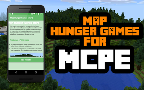 Map Hunger Games for MCPE - Apps on Google Play