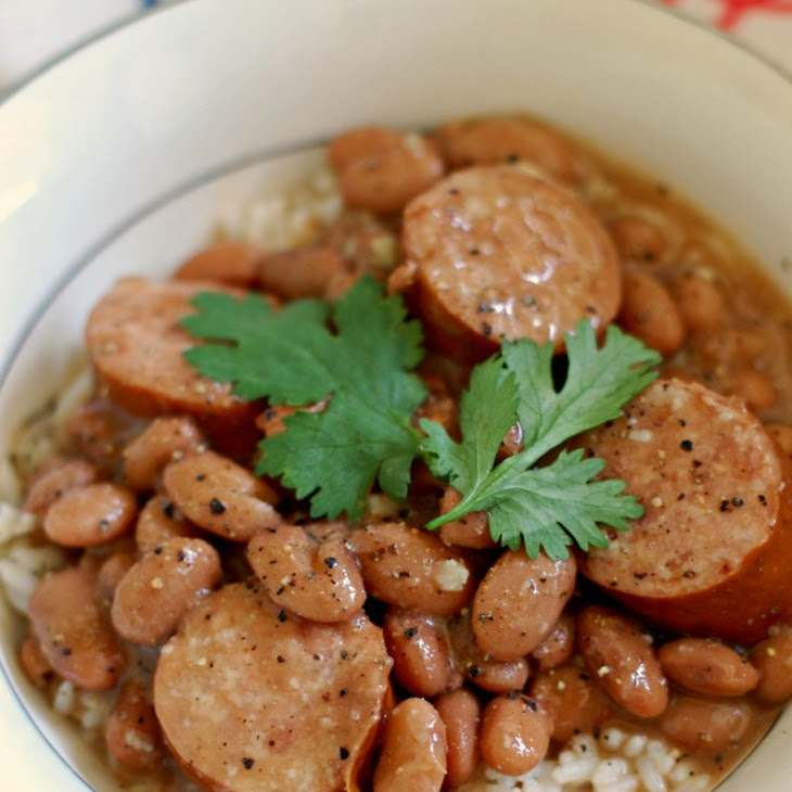 Pinto Beans and Rice with Sausage Recipe   Yummly