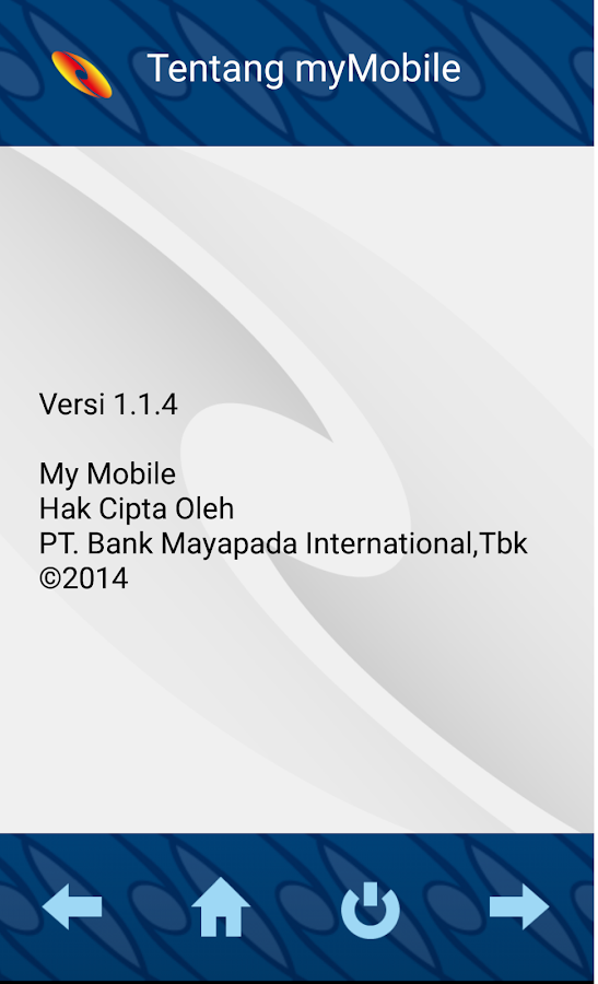 My Mobile Mayapada- screenshot