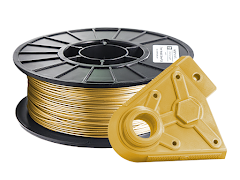 Metallic Gold PRO Series PLA Filament - 2.85mm (1kg)