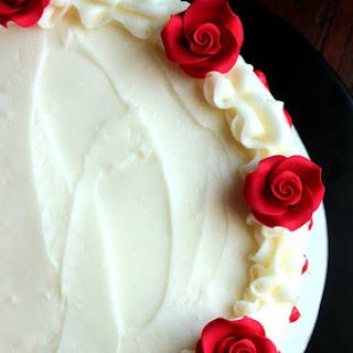 Red Velvet Rose Cake.