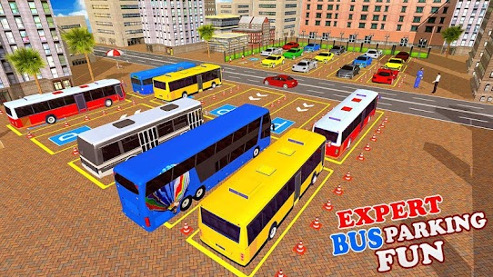 Modern Bus Drive 3D Parking new Games-FFG Bus Game 7