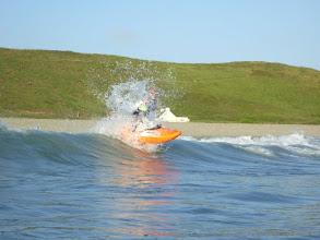 Photo: 5. Phil surfing