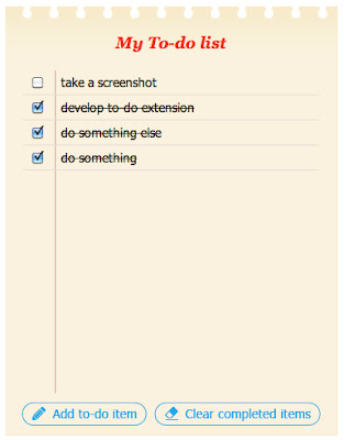 Tasks To-Do