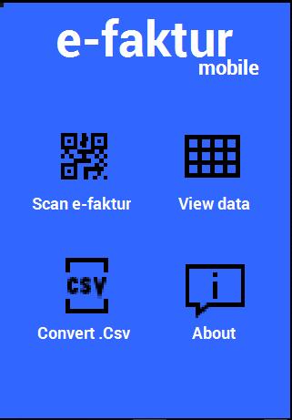 Barcode e-faktur Free