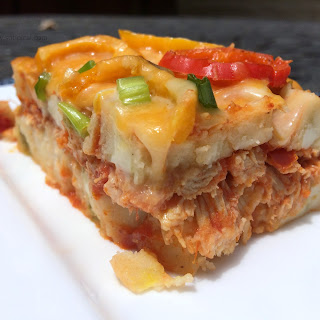 Spicy Chicken Tamale Pie