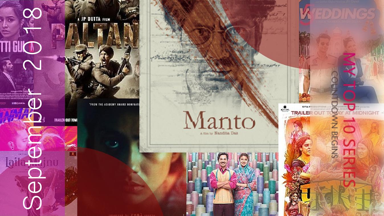 Upcoming Bollywood Movies Of September 2018