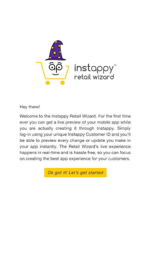 Instappy Retail Wizard- screenshot