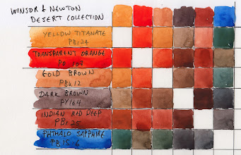 Photo: Winsor & Newton limited edition Desert Collection watercolour set