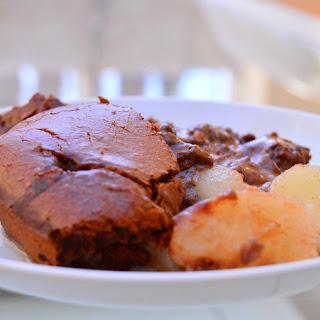 Chocolate Pear Pudding