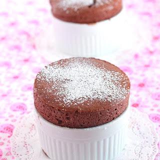 Mini Chocolate Soufflés.