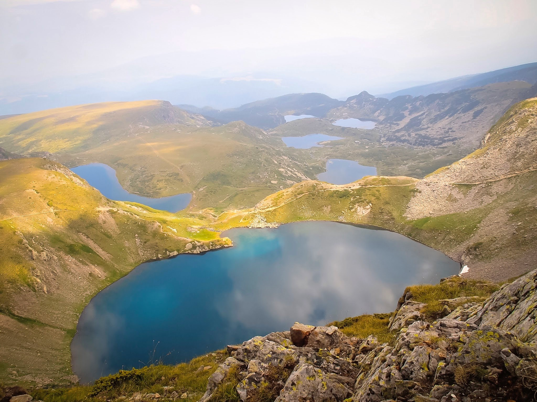 The best viewpoint in 7 Rila Lake hike