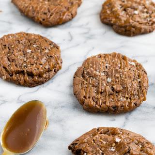 Salted Caramel Mocha Cookies.