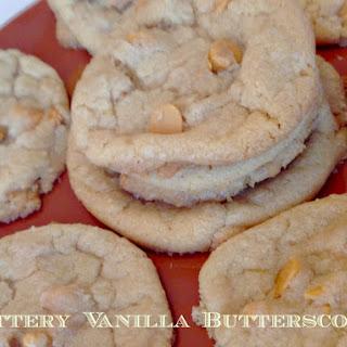 Buttery Vanilla Butterscotch Cookies.