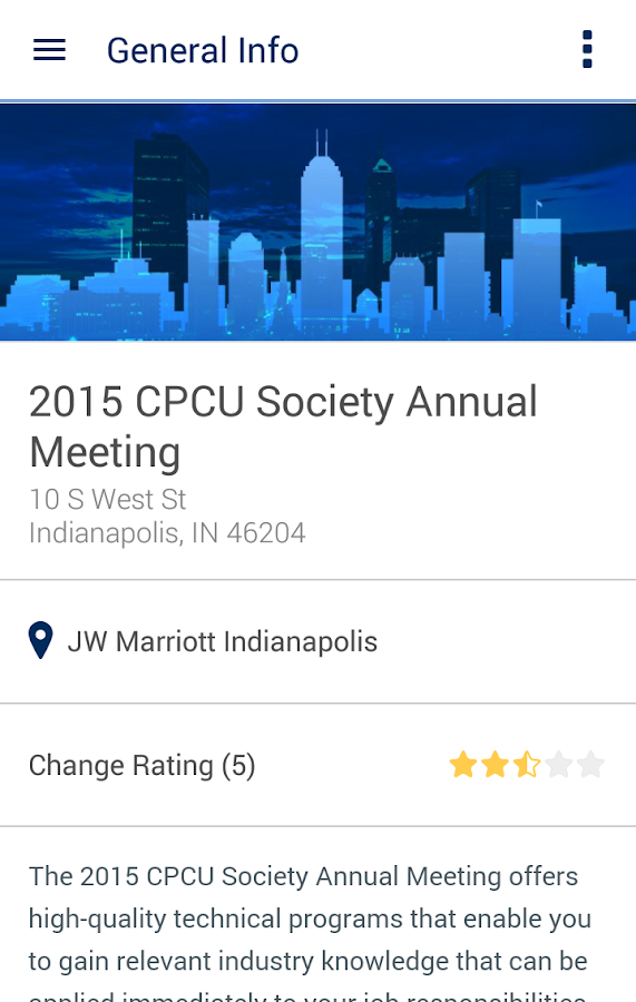 CPCU Society- screenshot